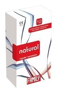 Family Natural kondomi 12 kpl