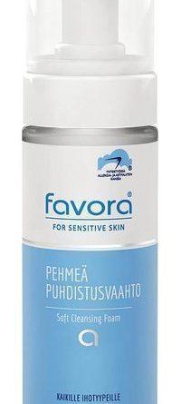 Favora Pehmeä puhdistusvaahto 150 ml - VANULAPUT KAUPANPÄÄLLE