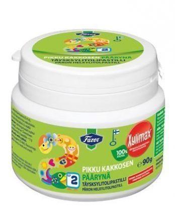 Fazer Xylimax Pikku Kakkosen päärynäpastilli 90 g