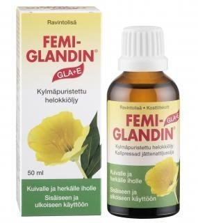 Femiglandin GLA + E helokkiöljyvoide 50 ml.