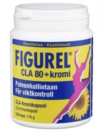 Figurel CLA 80 +kromi 150 kaps