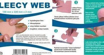 Fleecy Web liimattava ihonsuoja 13 x 22 cm