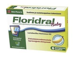 Floridral Baby Ripulijuoma annosjauhe 6 x 4