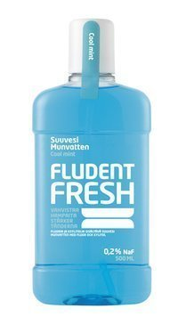 Fludent Fresh suuvesi 500 ml