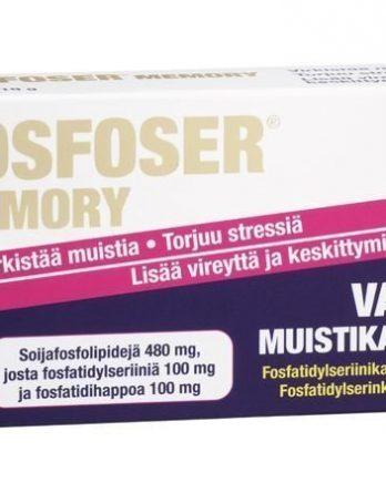 Fosfoser Memory muistikapselit 20 kaps