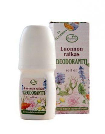 Frantsilan Luonnon raikas deodorantti rollon