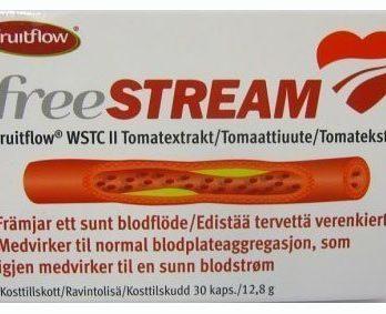 Freestream Fruitflow tomaattiuute 30 kapselia
