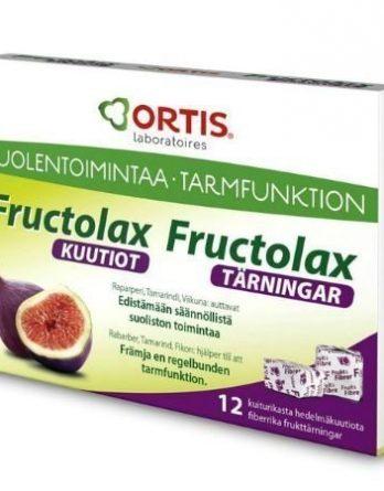 Fructolax kuutiot 12 kpl