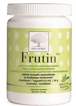 Frutin -Hyväksi ruoan sulatukselle 60 tablettia
