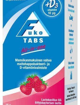 Fuko Tabs All-In-One 30 purutablettia