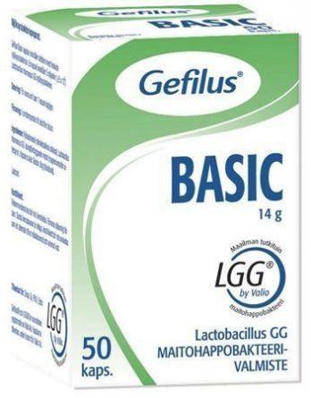 Gefilus Basic Maitohappobakteerikapselit 50 kaps