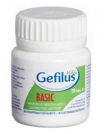 Gefilus Basic maitohappobakteeri 20 kaps