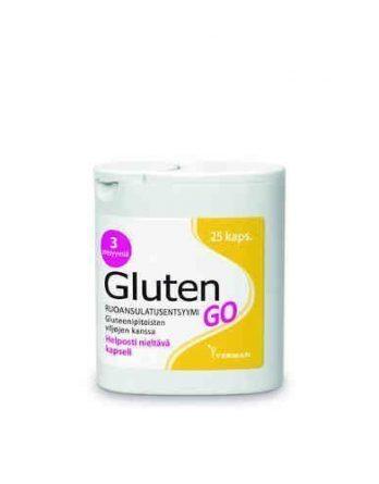 Gluten GO 25 kapselia