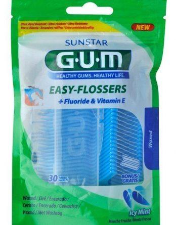 Gum Easy-Flossers Hammaslankain 30 kpl