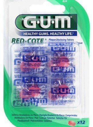 Gum Red Cote Infärgningstabletter 12 kpl