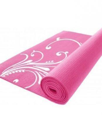 Gymstick kuvioitu joogamatto pinkki