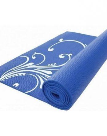 Gymstick kuvioitu joogamatto sininen