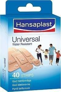 Hansaplast Universaali Sekapakkaus 40 kpl