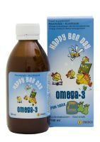 Happy Bee Day Omega-3 190 ml