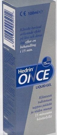 Hedrin Once Liquid Gel 100 ml