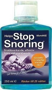 Helps Stop Snoring Munskölj 250 ml