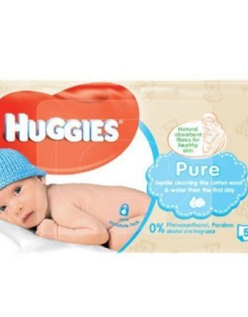 Huggies Wipes Pure 56 kpl