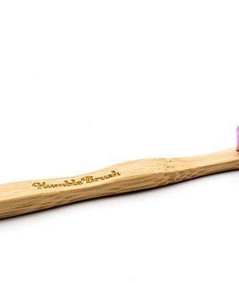 Humble Brush Bambu Tandborste Barn Lila 1 kpl