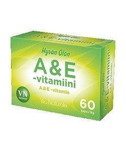 Hyvän Olon A & E -vitamiini 60 kapselia