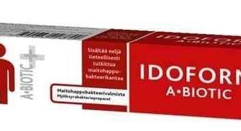 Idoform A-biotic maitohappobakteerivalmiste 20 kapselia