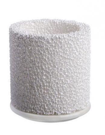 Iittala Fire kynttilälyhty 11 cm valkoinen