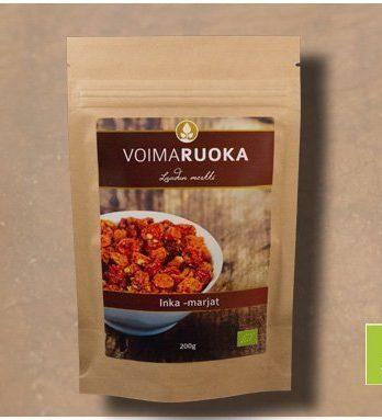 Inka -marjat LUOMU 200 g Voimaruoka