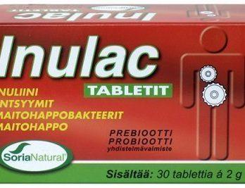 Inulac-probiootti Imeskelytabletit 30 kpl