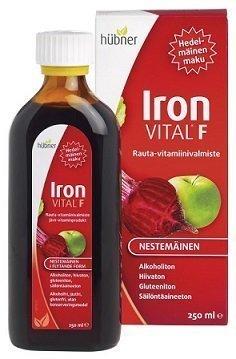 Iron Vital F rauta-vitamiinivalmiste 250 ml
