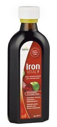 Iron Vital F rauta-vitamiinivalmiste 500 ml