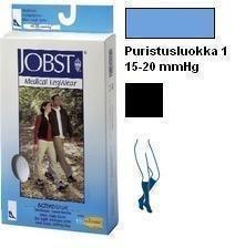 Jobst ActiveWear 15-20 mmHg polvipit. tukisukat musta XL