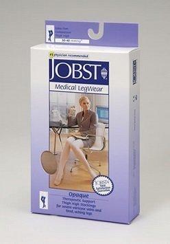 Jobst Opaque 30-40 mmHg polvipituiset tukisukat natural XL