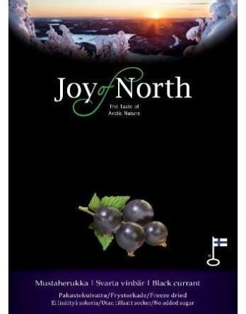Joy of North Pakastekuivattu mustaherukka 30 g