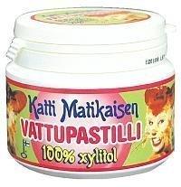 Katti Matikaisen vadelma täysksylitolipastillit 100 kpl.