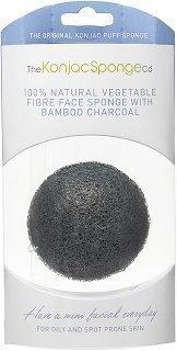 Konjac Sponge Bamboo Charcoal 1 kpl