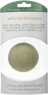 Konjac Sponge French Green Clay 1 kpl