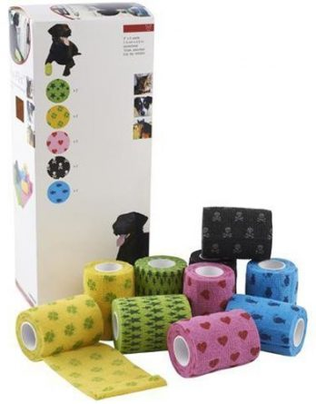 Kruuse Fun - Flex Pet Bandage Osorterat 5 Cm 10 kpl