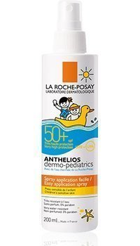 La Roche-Posay Anthelios aurinkosuojasuihke lapsille SPF 50+ 200 ml