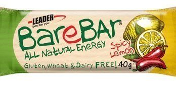 Leader BareBar Spicy Lemon 40 g x 24 kpl