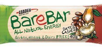 Leader BareBar Taateli-Cashew 40 g x 24 kpl
