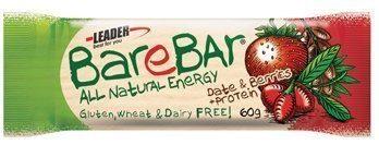 Leader BareBar Taateli-Marja + Proteiini 60 g x 24 kpl