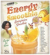 Leader Energy Smoothie 50 g - HUOM PVM 09/16