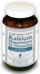 Leader Kalsium + MG + D-vitamiini 180 tabl.