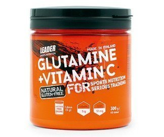 Leader L-Glutamiini + C Natural 300 g