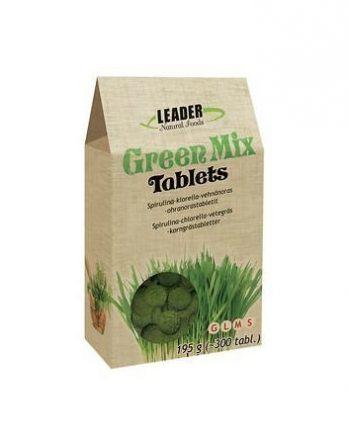 Leader Natural Foods Green Mix Tablets 300 kpl