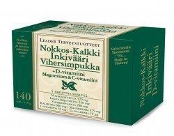 Leader Nokkos-Kalkki-Inkivääri-D-Mg-C 140 tabl.